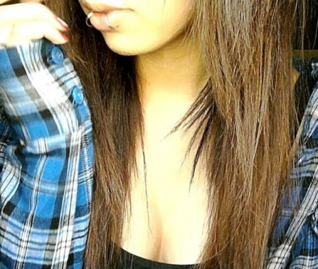 Sexy Emo Girls Long Straight Hairstyles