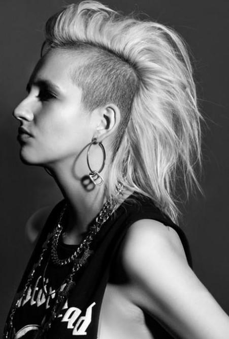 Punk Hairstyles for Women  Stylish Punk Hair Photos