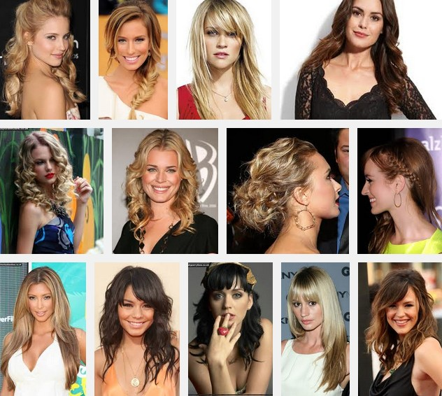 long prom hairstyles gallery