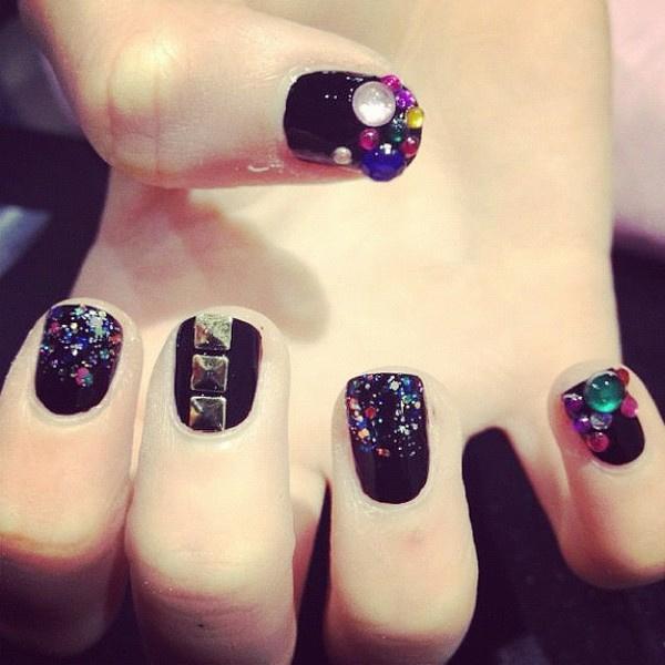 Black cool shine