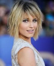 blonde short shag hairstyle - pretty