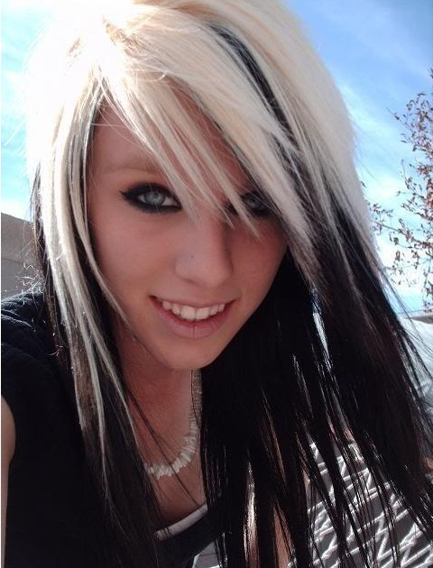 Black Hair With Blonde Highlights For 2014 Hairstyles Pretty Designs
