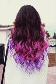 long wavy ombre hair - hairstyle