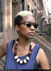 cool short natural hairstyles