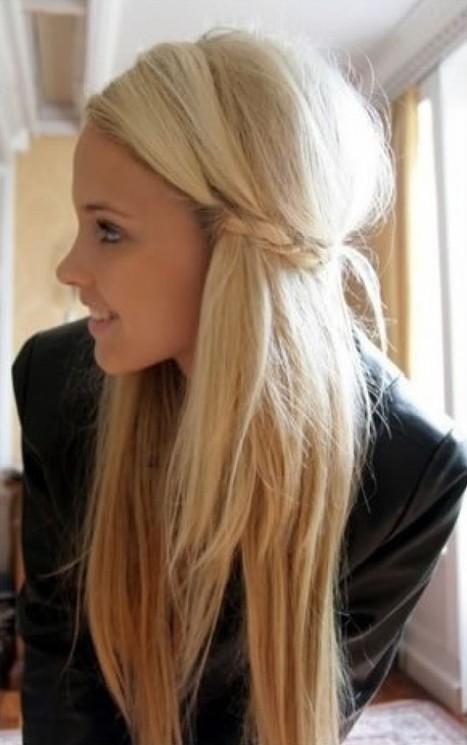 2014 Cute Easy Hairstyles for Long Hair  Pretty Designs