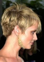 chic short hairstyles thin