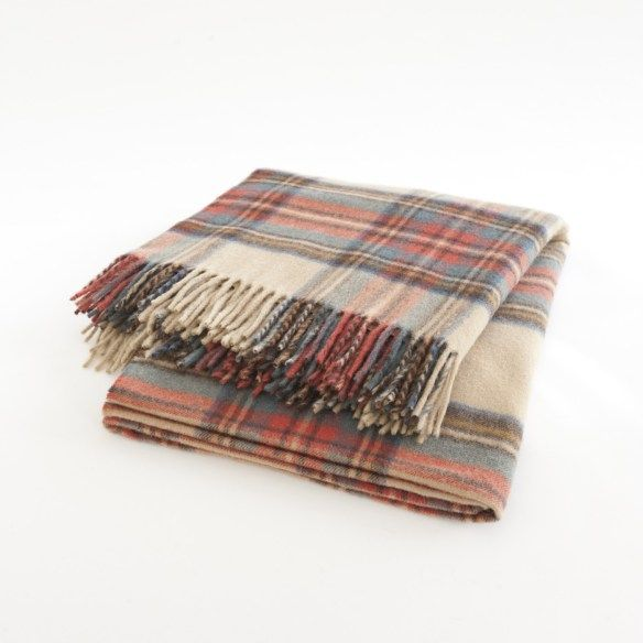 Classic and Lovely Plaid Home Decorating Trend for 2014  Pretty Designs