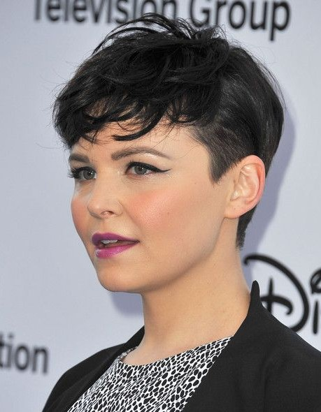 Really Short Hairstyles For Round Faces Pretty Designs
