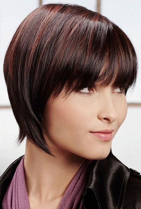 10 Straight Hairstyles For Short Hair Short Haircuts For