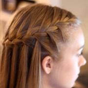 waterfall braid - cute braided