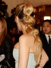 blake lively long hairstyle parted