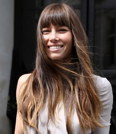 30 Long Thick Hairstyles With Bangs Hairstyles Ideas Walk The Falls