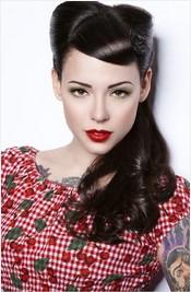 4 classic retro hairstyles - pretty