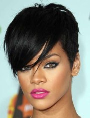 rihanna hairstyles trendy pixie