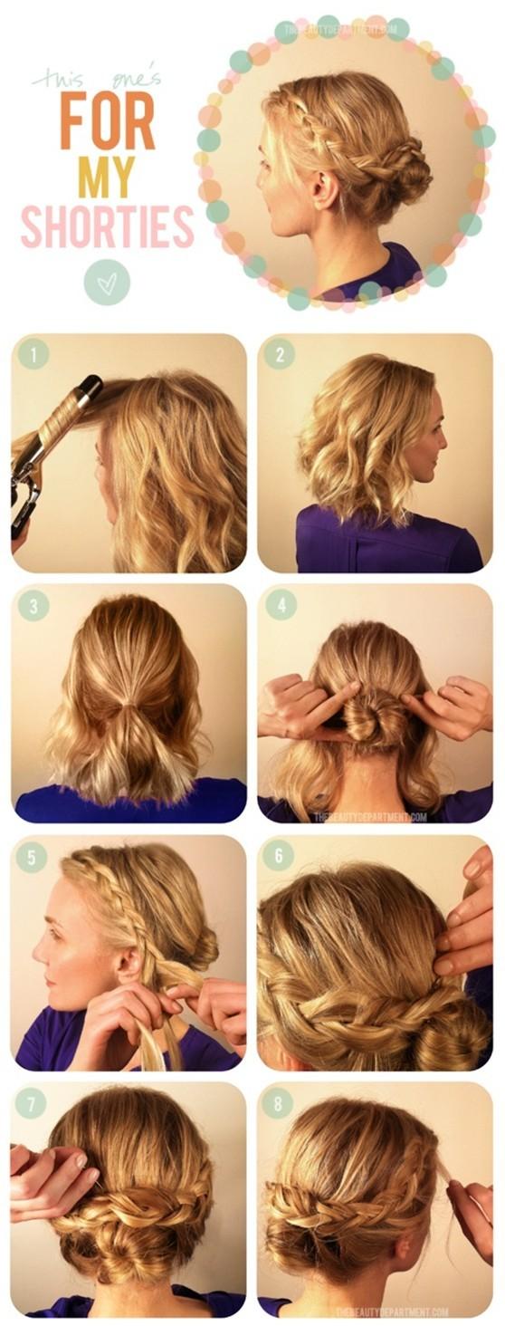 15 braided updo hairstyles tutorials - pretty designs