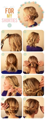 braided updo hairstyles tutorials