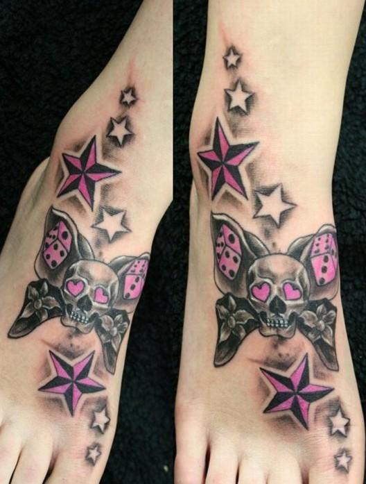 hottest star tattoo design