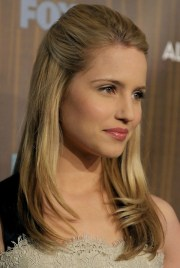 dianna agron hairstyles straight