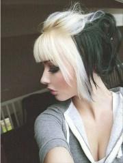 edgy-chic emo hairstyles girls