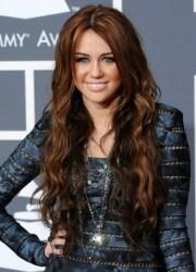 miley cyrus hairstyles brunette