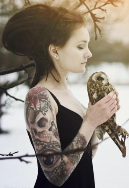 cool skull tattoos design