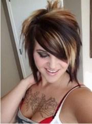5 eye-catching short emo hairstyles