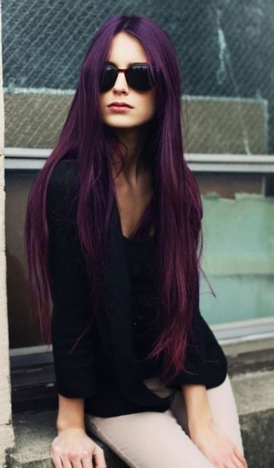 Stunning Purple Hair Trend For Women Pretty Designs