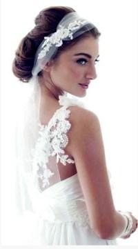 Wedding amazing dress: Vintage wedding hair veils