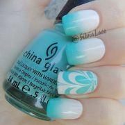tutorials water marble nails