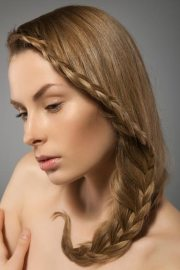 loose braided hairstyles