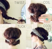 easy and sassy diy hairstyle