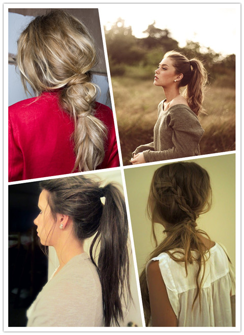 Latest Hairstyle Quick Ponytail Hairstyles Inspiring Photos Of