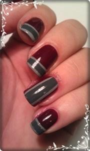 easy stripe nails beginners