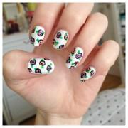 flower nail art ideas - pretty