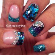ocean nail arts - pretty design
