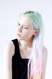 chalk dyed hair ideas