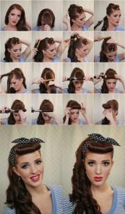 ways make vintage hairstyles