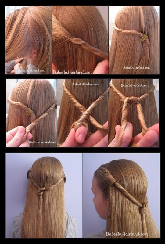 16 Ultraeasy Hairstyle Tutorials for Your Daily Occasions