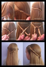 ultra-easy hairstyle tutorials