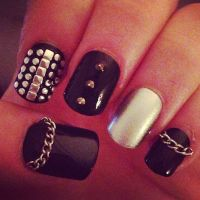 Top 20 Studded Nail Designs You Should Have - Pretty Designs