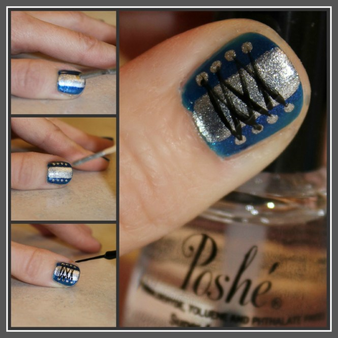 Image Led Do Easy Nail Art With A Toothpick For Beginners Step 1