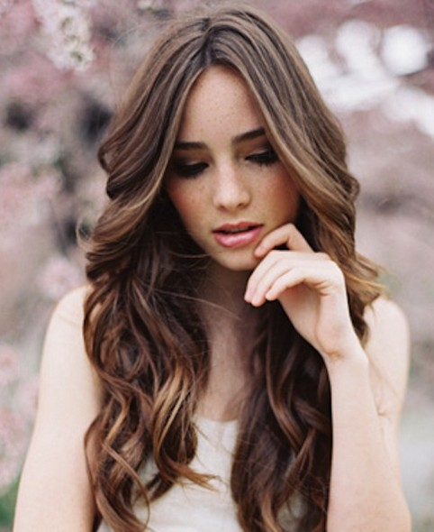 Bridal Hairstyles Romantic Curls Pretty Designs