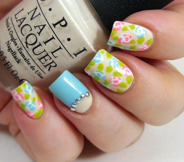 Pretty Spring Nail Art Fl Nails