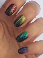 cool nail design - pretty