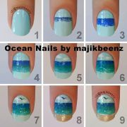nice nail tutorials short