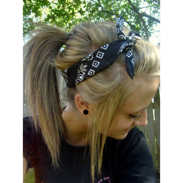 How To Create A Hairstyle With A Bandana Pretty Designs