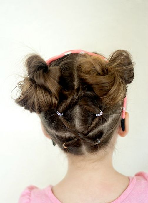 25 Cute Hairstyles With Tutorials For Your Daughter