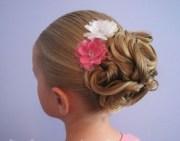 cute chain updo princess hairstyle