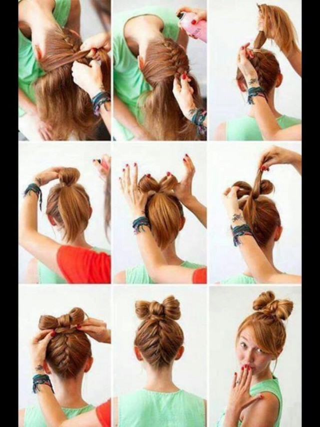 13 Hair Tutorials For Bow Hairstyles Pretty Designs