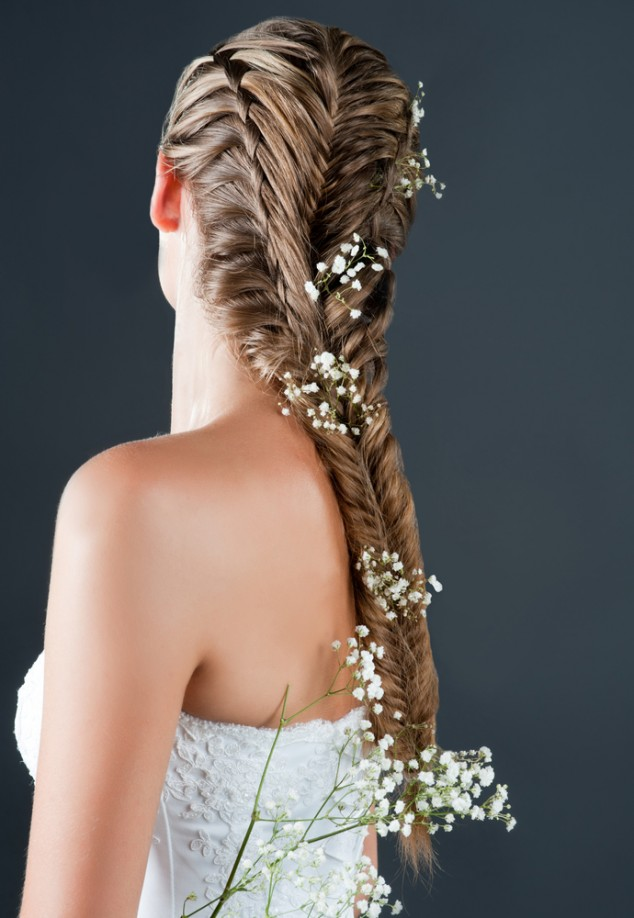 20 Romantic Floral Wedding Hairstyles Pretty Designs